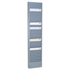 MMF 20601 SteelMaster Swipe Card/Badge Rack MMF20601