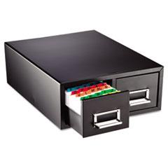 MMF 263F3516DBLA SteelMaster Drawer Card Cabinet MMF263F3516DBLA