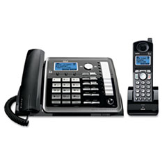 RCA 25255RE2 RCA ViSYS Two-Line Corded/Cordless Expandable Phone System RCA25255RE2