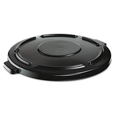 RCP 264560BLA Rubbermaid Commercial Vented Round Brute Lid RCP264560BLA