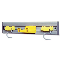 RCP 199200GY Rubbermaid Commercial Closet Organizer/Tool Holder Kit RCP199200GY