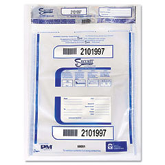 PMC 58051 PM Company SecurIT Triple Protection Tamper-Evident Deposit Bags PMC58051