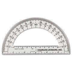 LEO 77106EA Charles Leonard Open Center Protractor LEO77106EA