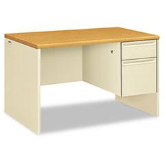 HON 38251CL HON 38000 Series Single Pedestal Desk HON38251CL