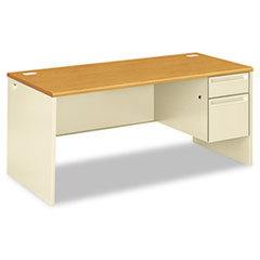 HON 38291RCL HON 38000 Series Single Pedestal Desk HON38291RCL