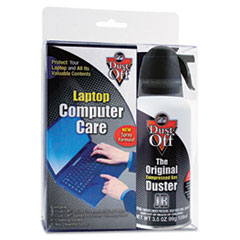 FAL DCLT Dust-Off Laptop Computer Care Kit FALDCLT