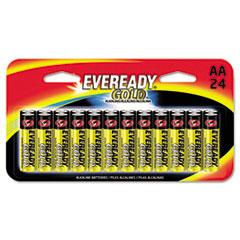 EVE A91BP24HT Eveready Gold AA Batteries EVEA91BP24HT