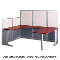 BSH WC3649603 Bush Office in an Hour Collection U- Workstation BSHWC3649603