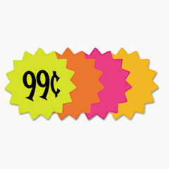 COS 090249 COSCO Die Cut Paper Signs COS090249