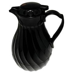 HOR 4022B Hormel Swirl Design Poly Lined Carafe HOR4022B