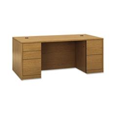 HON 105890CC HON 10500 Series Double Pedestal Desk with Full Pedestals HON105890CC