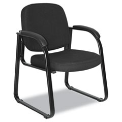ALE RL43C11 Alera Genaro Series Half-Back Sled Base Guest Chair ALERL43C11
