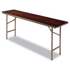 ALE FT727218MY Alera Rectangular Wood Folding Table ALEFT727218MY