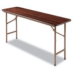 ALE FT726018MY Alera Rectangular Wood Folding Table ALEFT726018MY