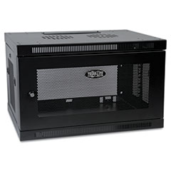 TRP SRW6U Tripp Lite SmartRack Low-Profile Switch-Depth Wall-Mount Rack Enclosure Cabinet TRPSRW6U