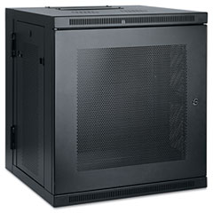 TRP SRW12US Tripp Lite SmartRack Low-Profile Switch-Depth Wall-Mount Rack Enclosure Cabinet TRPSRW12US