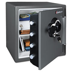 SEN SFW123CSB Sentry Safe Water-Resistant Fire-Safe with Combination Access SENSFW123CSB