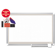 BVC GA03107830A MasterVision All Purpose Magnetic Dry Erase Planning Board BVCGA03107830A