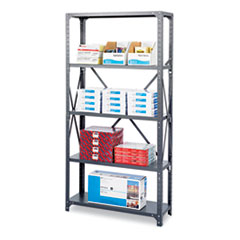SAF 6265 Safco Mayline Heavy-Duty Commercial Steel Shelving Unit SAF6265