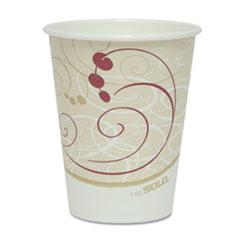SCC 378SMJ8000PK Dart Paper Hot Cups in Symphony Design SCC378SMJ8000PK