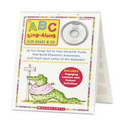 SHS SC978439 Scholastic ABC Sing-Along Flip Chart SHSSC978439