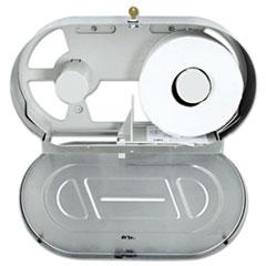 BOB 2892 Bobrick Stainless Steel Two-Roll Jumbo Toilet Tissue Dispenser BOB2892