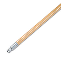 BWK 136 Boardwalk Metal Tip Threaded Hardwood Broom Handle BWK136