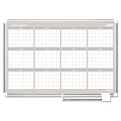 BVC GA05106830 MasterVision Magnetic Dry Erase Calendar Board BVCGA05106830