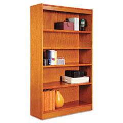 ALE BCS56036MC Alera Veneer Square Corner Bookcase ALEBCS56036MC