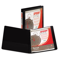 SAM 18110C Samsill Speedy Spine Heavy-Duty Time Saving Round Ring View Binder SAM18110C