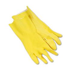 BWK 242L Boardwalk Flock-Lined Latex Cleaning Gloves BWK242L