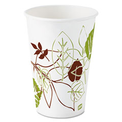 DXE 12FPWS Dixie Pathways Polycoated Paper Cold Cups DXE12FPWS