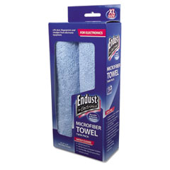 END 11421 Endust for Electronics Extra-Large Microfiber Towel Twin-Pack END11421