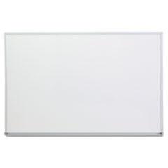UNV 43623 Universal Melamine Dry Erase Board with Aluminum Frame UNV43623