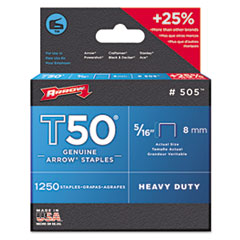 ARR 505 Arrow T50 Heavy Duty Staples ARR505
