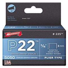 ARR 225 Arrow P22 Type Staples 225 ARR225
