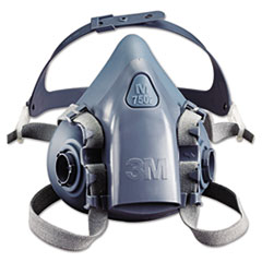 MMM 7502 3M Half Facepiece Respirator 7500 Series, Reusable MMM7502