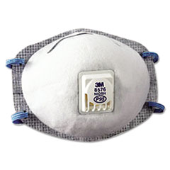 MMM 8576 3M N95 Particulate Respirator 8576 MMM8576