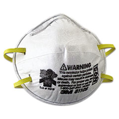 MMM 8110S 3M N95 Particulate Respirator 8110S MMM8110S