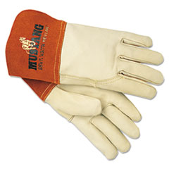 MPG 4950L MCR Safety Mustang MIG/TIG Leather Welding Gloves MPG4950L