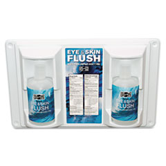 PKT 24102 Pac-Kit Twin Bottle Eye Flush Station PKT24102