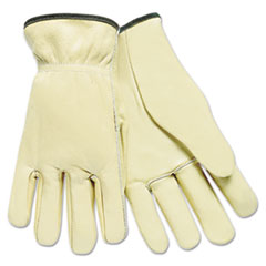 MPG 3200L MCR Safety Full Leather Cow Grain Work Gloves MPG3200L