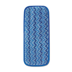 RCP Q820BLU Rubbermaid Commercial Microfiber Wet Mopping Pad RCPQ820BLU