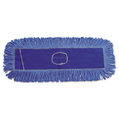 BWK 1118 Boardwalk Blue Dust Mop Head BWK1118