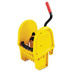 RCP 757588YEL Rubbermaid Commercial WaveBrake Down-Press Wringer RCP757588YEL