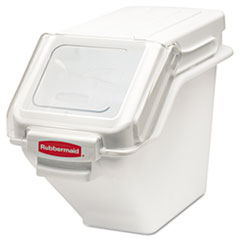 RCP 9G57WHI Rubbermaid Commercial ProSave Shelf-Storage Ingredient Bin RCP9G57WHI