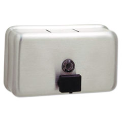 BOB 2112 Bobrick ClassicSeries Surface-Mounted Soap Dispenser BOB2112