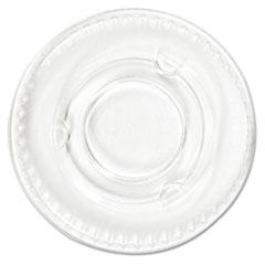 BWK YLS1FR Pactiv Crystal-Clear Portion Cup Lids BWKYLS1FR