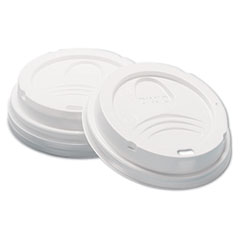 DXE D9538 Dixie Sip-Through Dome Hot Drink Lids DXED9538