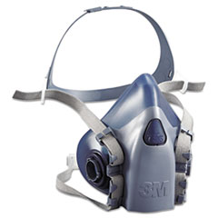 MMM 7503 3M Half Facepiece Respirator 7500 Series, Reusable MMM7503